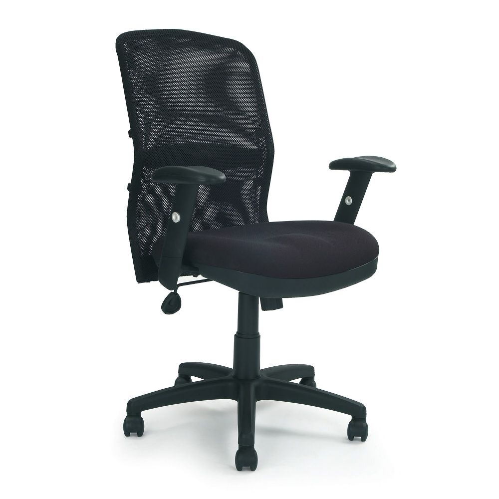 Jupiter High Back Manager Task Chair, Adjustable Armrests and Lumber Support